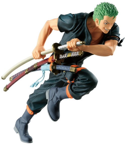 One Piece: Stampede Ichiban Roronoa Zoro 5.13-Inch Collectible PVC Figure