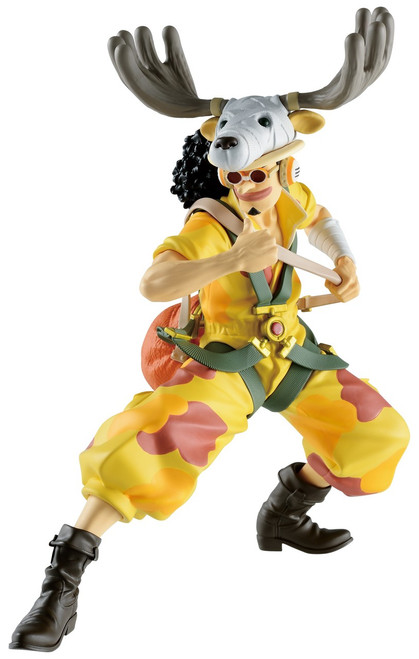 One Piece: Stampede Ichiban Usopp 4.13-Inch Collectible PVC Figure