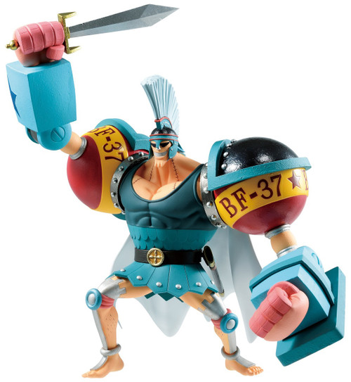 One Piece: Stampede Ichiban Franky 5.31-Inch Collectible PVC Figure