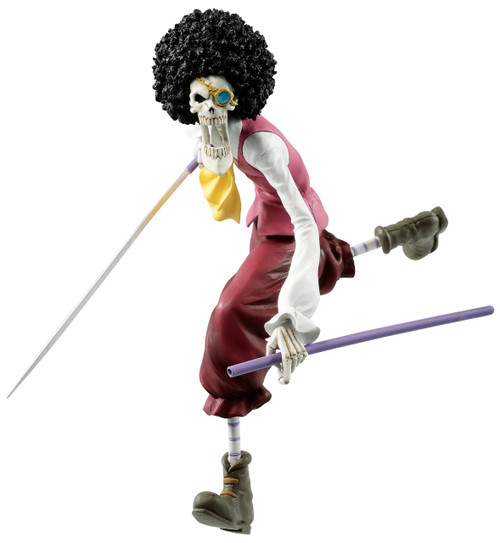 One Piece: Stampede Ichiban Brook 5.71-Inch Collectible PVC Figure