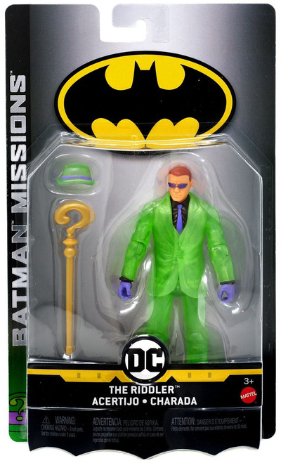 DC Batman Missions The Riddler Action Figure