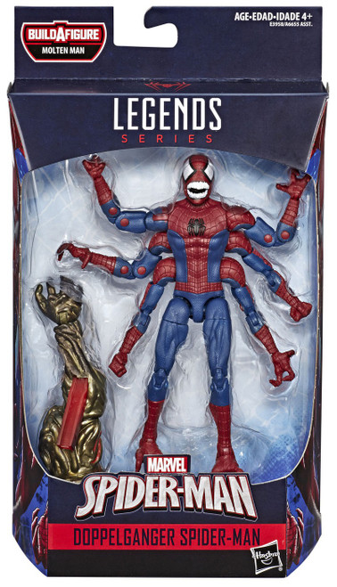 Marvel Legends Molten Man Doppelganger Spider-Man Action Figure