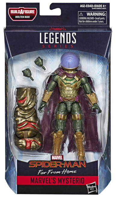 Spider-Man: Far From Home Marvel Legends Molten Man Marvel's Mysterio Action Figure [Far From Home]