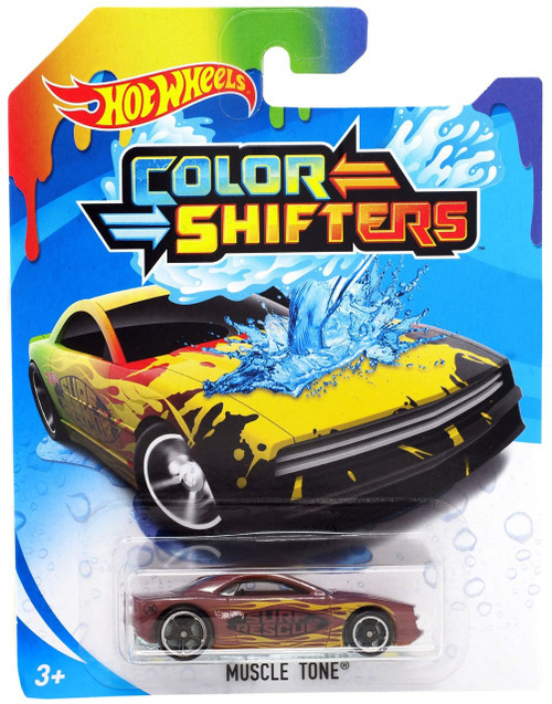 Hot Wheels Color Shifters Muscle Tone Diecast Car