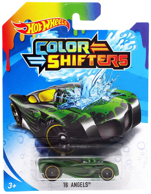 Hot Wheels Color Shifters 16 Angels Diecast Car