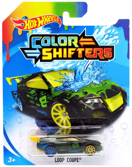 Hot Wheels Color Shifters Loop Coupe Diecast Car