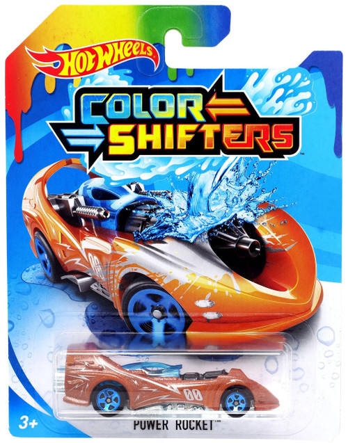 Hot Wheels Color Shifters Power Rocket Diecast Car