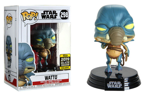 Funko POP! Star Wars Watto Exclusive Vinyl Figure #298