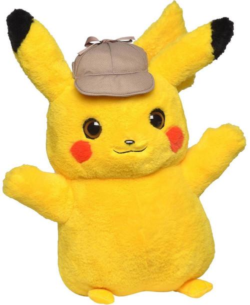 Pokemon Detective Pikachu Exclusive 16-Inch Plush [Real Scale!]