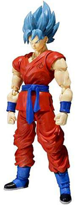 Dragon Ball Z S.H. Figuarts Super Saiyan Blue Goku Action Figure [Resurrection of F]