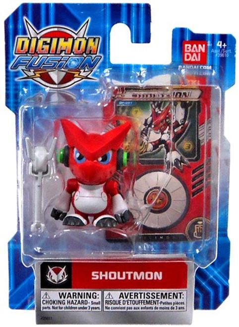 Digimon Fusion Shoutmon Action Figure