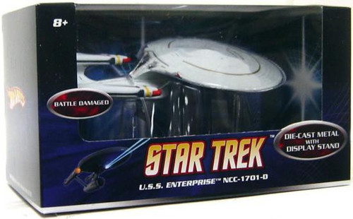 Hot Wheels Star Trek U.S.S. Enterprise NCC-1701-D Diecast Figure