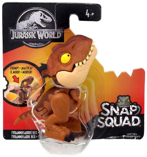 Jurassic World Snap Squad Tyrannosaurus Rex Mini Figure [Brown Version]