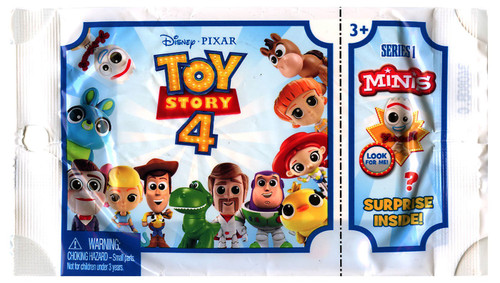 Disney / Pixar Toy Story 4 MINIS Series 1 Mystery Pack [1 RANDOM Figure]