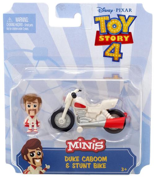 Disney / Pixar Toy Story 4 MINIS Duke Caboom & Stunt bike Mini Figure & Vehicle