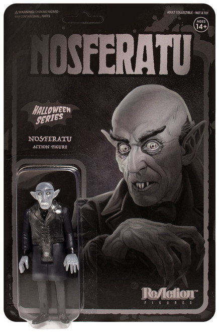 ReAction Halloween Series Nosferatu Action Figure [Translucent]