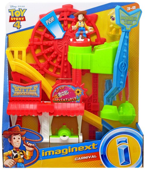 Fisher Price Disney / Pixar Imaginext Toy Story 4 Carnival Playset