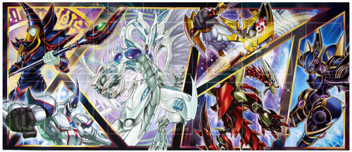YuGiOh Trading Card Game Dual Power Game Board