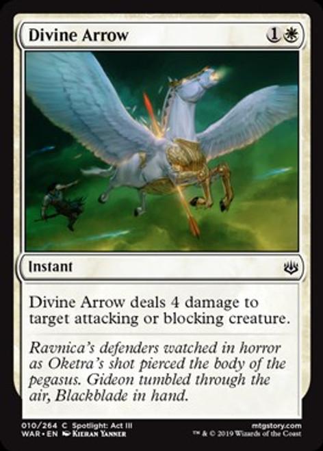 MtG War of the Spark Common Divine Arrow #10