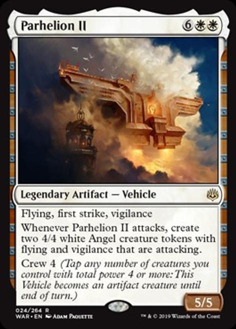MtG War of the Spark Rare Parhelion II #24