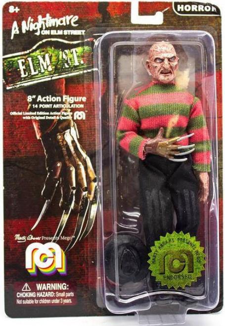 Horror Nightmare on Elm Street Freddy Krueger Action Figure (Pre-Order ships June)