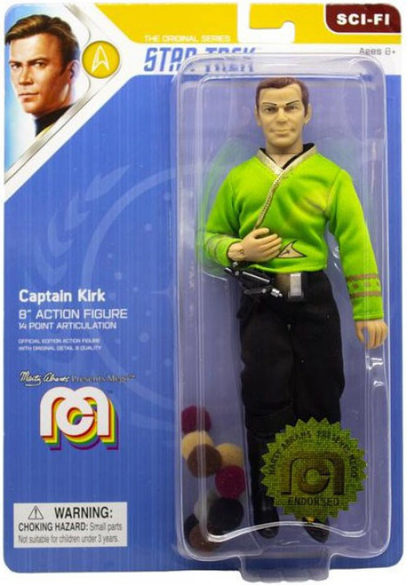 Star Trek Captain Kirk Action Figure [Green Shirt, with Tribbles]
