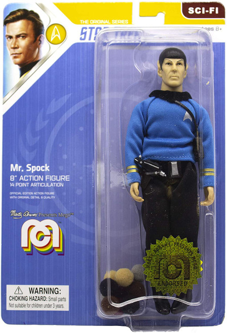 Star Trek Mr. Spock Action Figure [Blue Shirt, with Tribbles]