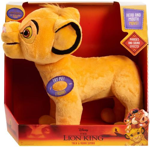 Disney The Lion King Talk & Roar Simba Exclusive Plush Figure