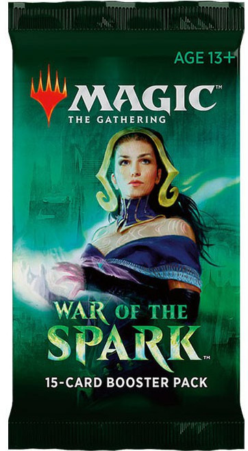 MtG Trading Card Game War of the Spark Booster Pack [15 Cards]