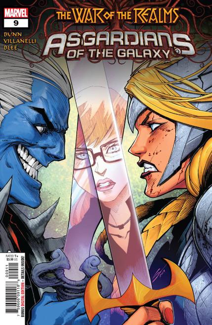 Marvel Comics Asgardians of the Galaxy #9 Comic Book