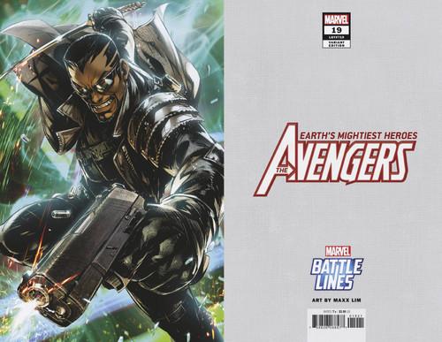 Marvel Comics Avengers #19 Comic Book [Battle Lines Variant Cover]