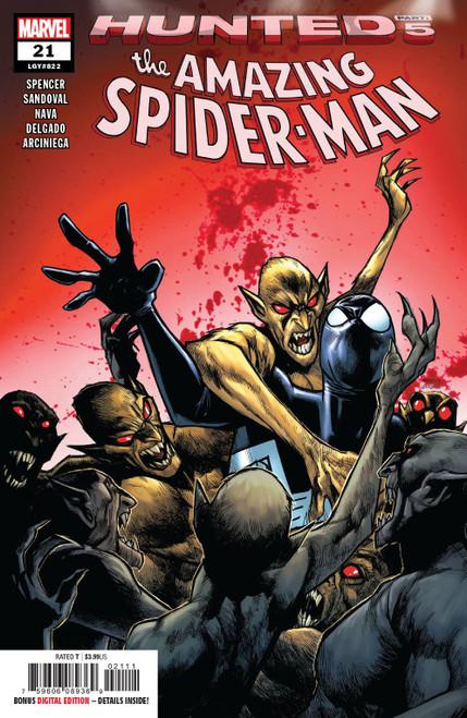 Marvel Comics Amazing Spider-Man #21 Comic Book