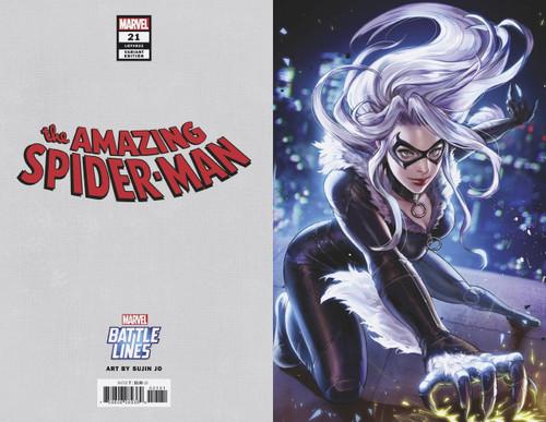 Marvel Comics Amazing Spider-Man #21 Comic Book [Battle Lines Variant Cover]