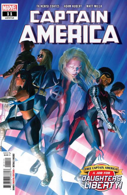 Marvel Comics Captain America #11 Comic Book