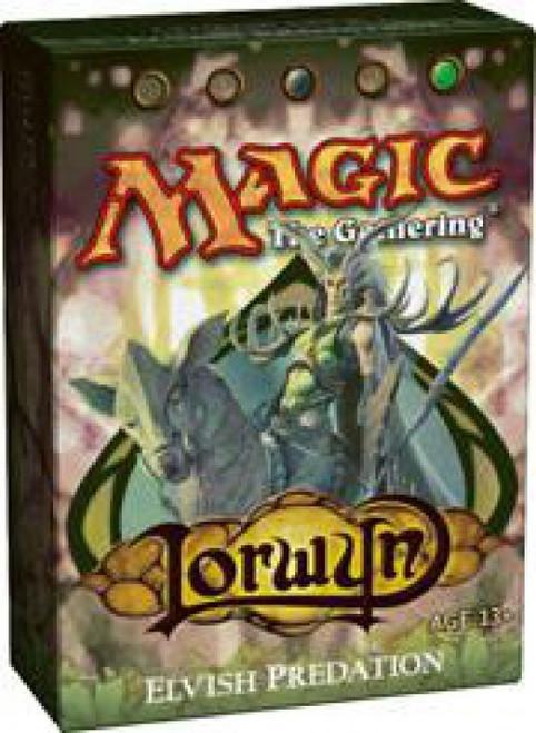 MtG Trading Card Game Lorwyn Elvish Predation Theme Deck
