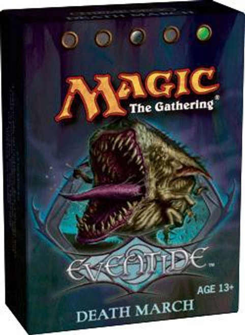 MtG Trading Card Game Eventide Death March Theme Deck