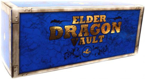 MtG Trading Card Game Card Supplies Elder Dragon Vault Deck Box [Blue]