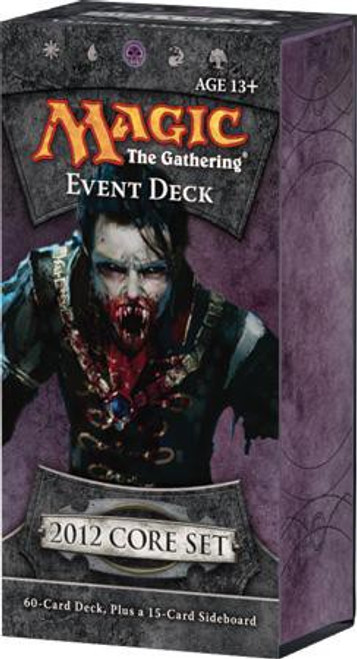 MtG Trading Card Game 2012 Core Set Vampire Onslaught Event Deck