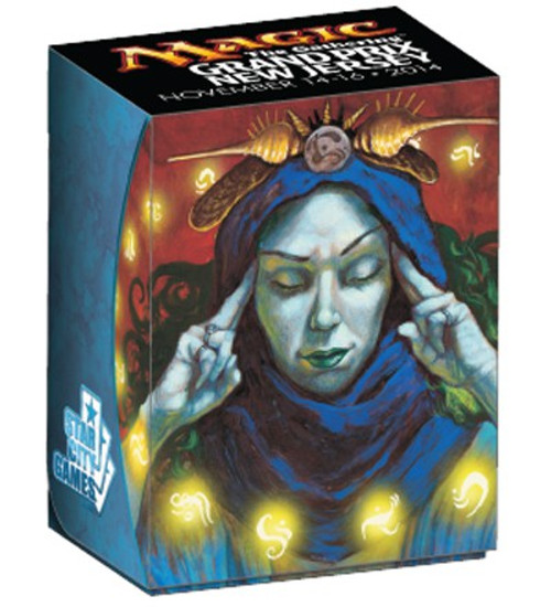 Ultra Pro MtG Trading Card Game Grand Prix New Jersey Brainstorm Deck Box