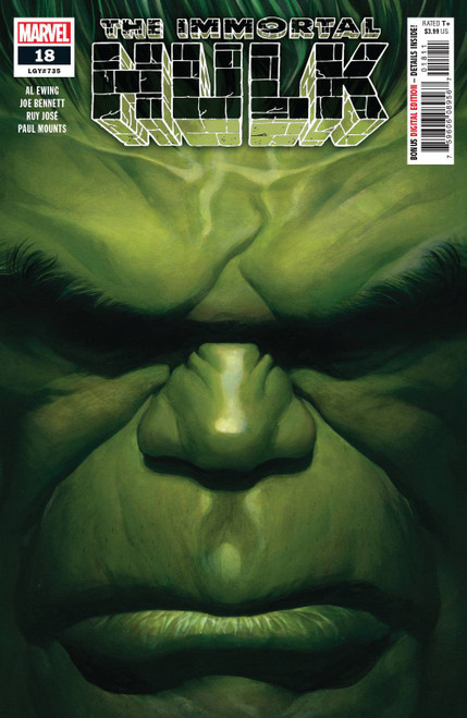 Marvel Comics The Immortal Hulk #18 Comic Book