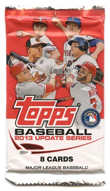 MLB Topps 2013 Update Baseball Trading Card Pack [8 Cards]