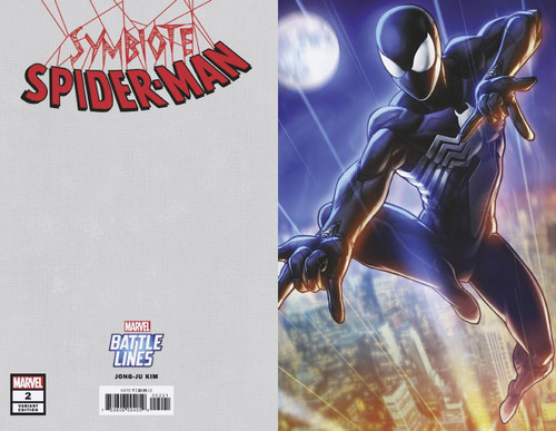Marvel Comics Symbiote Spider-Man #2 Comic Book [Battle Lines Variant Cover]