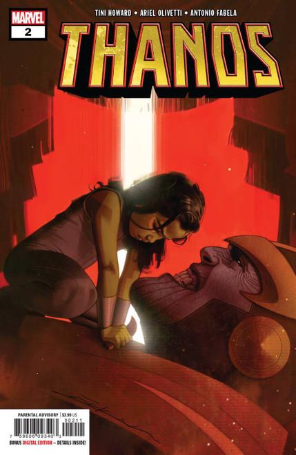 Marvel Comics Thanos #2 Comic Book