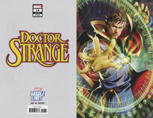 Marvel Comics Doctor Strange #14 Comic Book [Battle Lines Variant Cover]