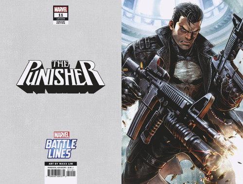 Marvel Comics The Punisher #11 Comic Book [Battle Lines Variant Cover]