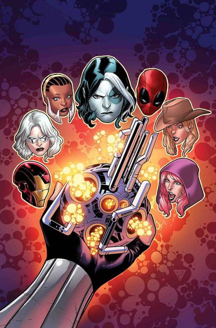 Marvel Domino Hot Shots #3 of 5 Comic Book