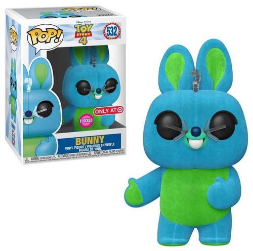 Funko Disney / Pixar Toy Story 4 POP! Disney Bunny Exclusive Vinyl Figure #532 [Flocked]