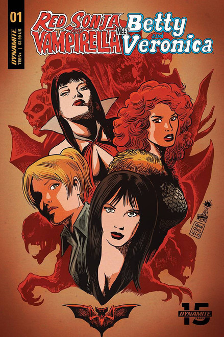 Dynamite Entertainment Red Sonja & Vampirella Meet Betty & Veronica #1 Comic Book [Francesco Francavilla Cover B]