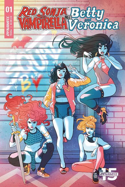 Dynamite Entertainment Red Sonja & Vampirella Meet Betty & Veronica #1 Comic Book [Paulina Ganucheau Cover D]