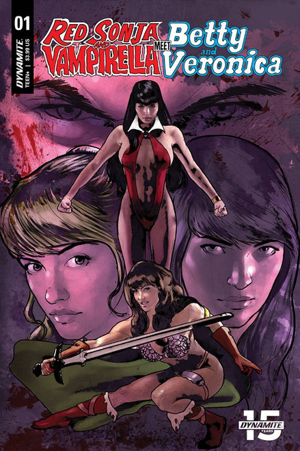 Dynamite Entertainment Red Sonja & Vampirella Meet Betty & Veronica #1 Comic Book [Cat Staggs Cover G]